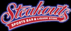 Steakouts Script Logo