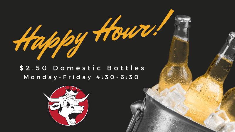 M-F Happy Hour - Domestic Bottles